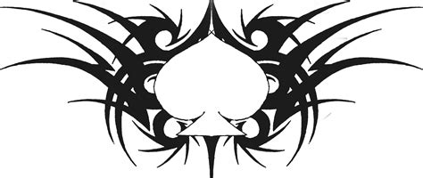 tribal spade tattoos tribal ace of spades by aglinskas on deviantart
