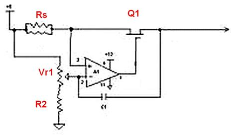current limiting resistor in power supply simple lm317 variable voltage supply does it limit current electrical engineering stack