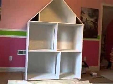 how to make ag doll house american girl doll house youtube