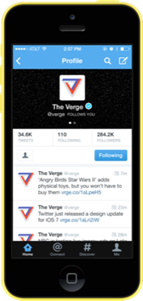 twitter layout ios flat out the best new apps for ios 7 the verge