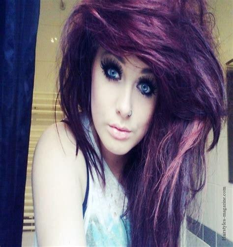 emo rocker hairstyles rocker girl hairstyles hair is our crown