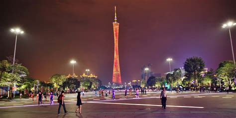 light up downtown canton stop 3 guangzhou china retail study tour