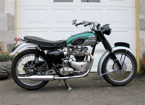 Per Standar Sing 2tone Yamaha triumph thunderbird gallery classic motorbikes