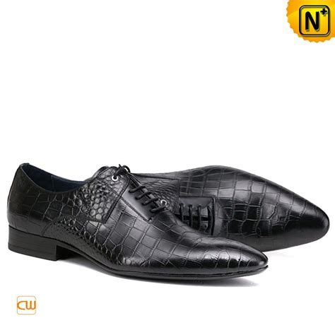 mens black leather blucher dress shoes cw762016
