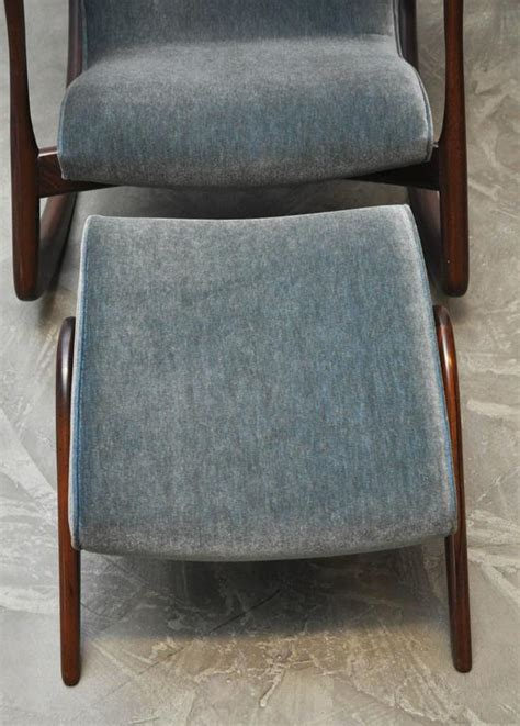 rocking chair with ottoman for sale vladimir kagan rocking chair with ottoman for sale at 1stdibs