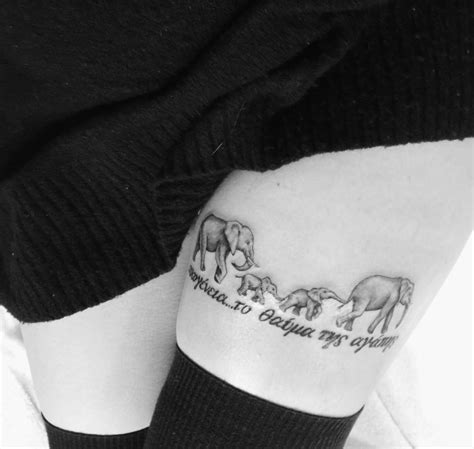 elephant tattoo meaning family greek quote meaning family the miracle of love my