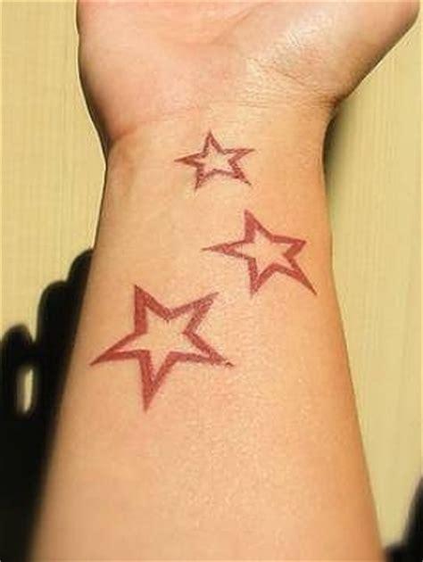 tattoo simple star star tattoo designs for girls