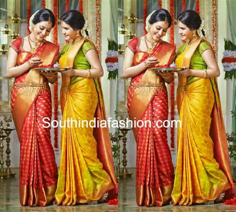 Pothys Wedding Silk Sarees ~ Celebrity Sarees, Designer