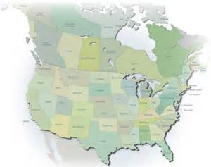 map us and canada road map of united states and canada