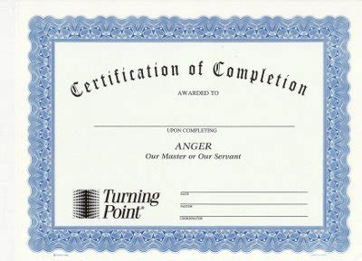 Certification Of Marriage Letter Anger Our Master Or Our Servant Certificate Of Completion