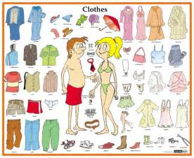 le englisch articles of clothing worksheet search