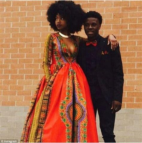 red design group instagram bullied teen kyemah mcentyre designs african inspired prom