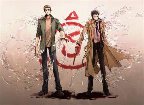 anime supernatural lucifer supernatural fanart zerochan anime image board