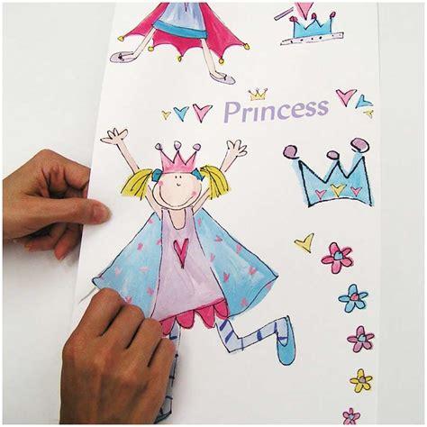 Wandsticker Drucken by Roommates Wandtattoo Kleine Prinzessin Kinderzimmer