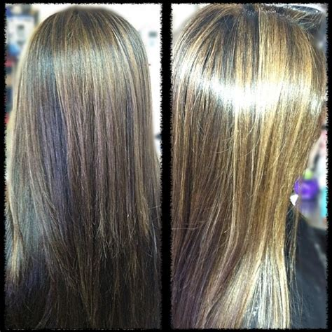 caramel and platinum hair color dark brown hair color with caramel and subtle blonde