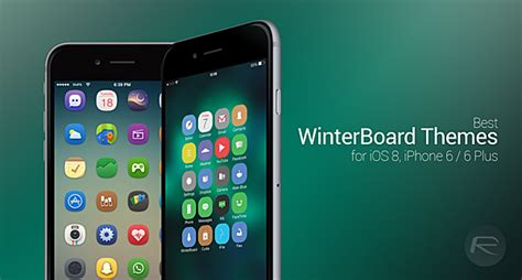 theme app for iphone 6 plus the best winterboard themes for ios 8 iphone 6 and iphone