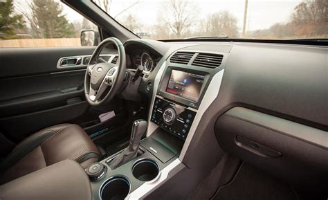2015 ford explorer sport interior car and driver
