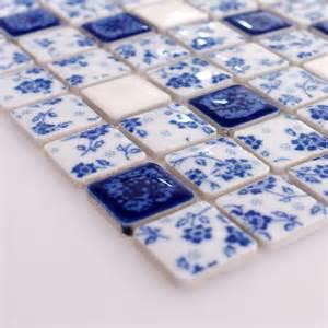 bathroom tiles blue and white blue and white tile glossy porcelain mosaic bathroom tiles