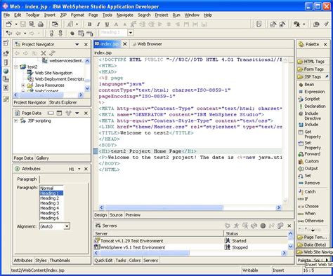 eclipse jsp editor design view eclipse web tools platform project wiki ibm contributions