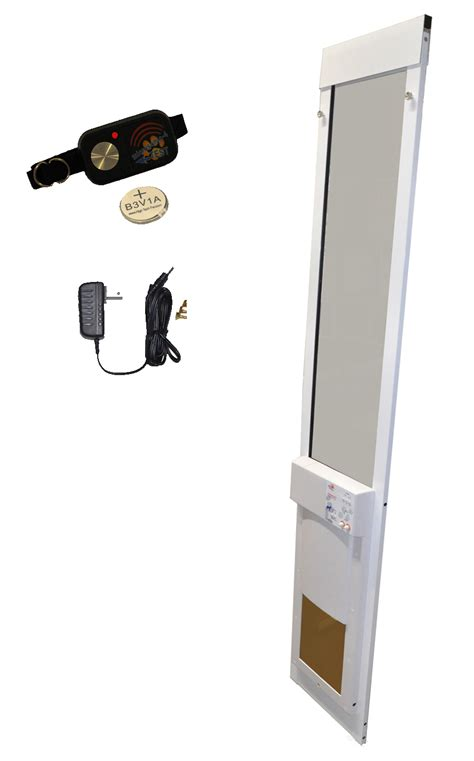 Automatic Pet Doors by Fully Automatic Pet Doors Made Just For Sliding Glass Doors