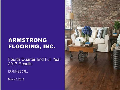 armstrong flooring inc 2017 q4 results earnings call