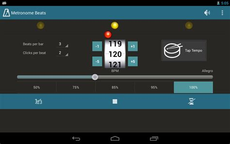 metronome app android metronome beats android apps on brothersoft