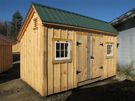 saltbox style shed choose size yardgardentooloutdoor
