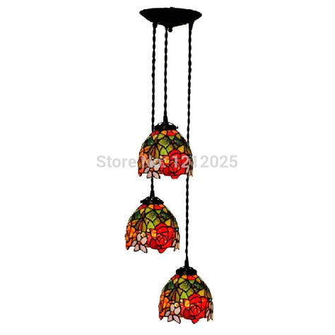 tiffany pendant lights kitchen antique tiffany style rose pendant l dining lights bars