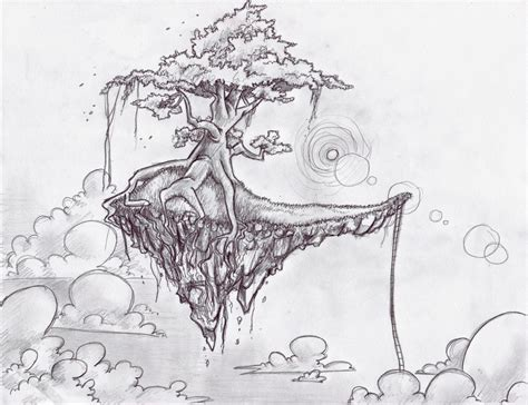 the floating island by araiko o on deviantart