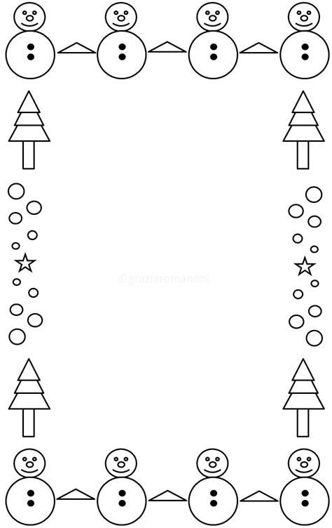 cornici natalizie da colorare cornicette di natale mondofantastico