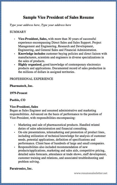 2 years sales experience resume