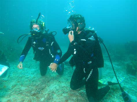 Wedding Underwater by Underwater Weddings St Croix Weddings
