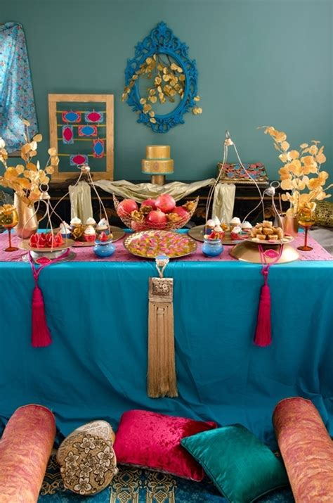 moroccan themed decorations henna themed dessert table by petit gateau ceremony