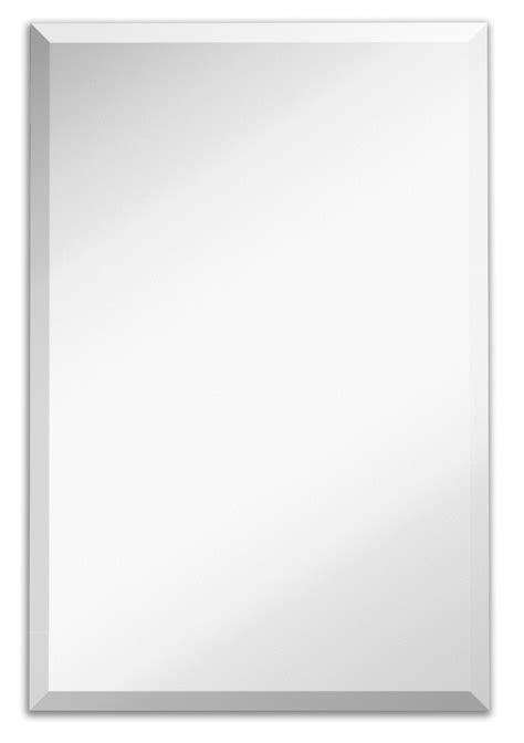 amazoncom 20quot x 30quot rectangle frameless bevel wall