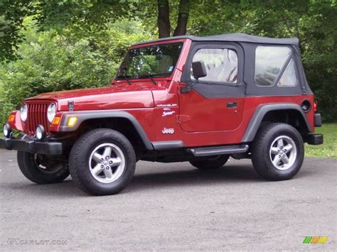 1998 chili pepper pearl jeep wrangler sport 4x4 50601097 gtcarlot car color galleries
