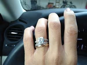 Cartier trinity ring as engagement ring weddingbee