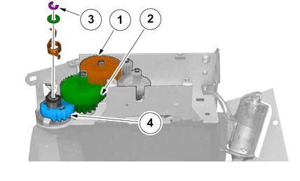 sat nav screen motor  repair kit