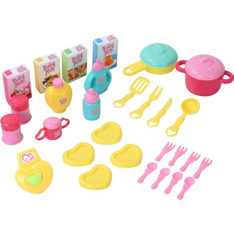 3 In 1 Toys Set baby alive doll 3 in 1 cook n care kitchen set