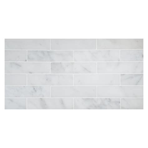 tile pattern staggered staggered stripes 1 quot x 4 quot mosaic tile bianco carrara