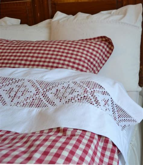 swedish bed linens a comfy swedish bed dressed in checks and vintage