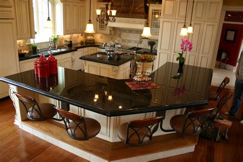 Pre Built Kitchen Islands by Factor Which Makes Absolute Black Granite Tiles Has A Best