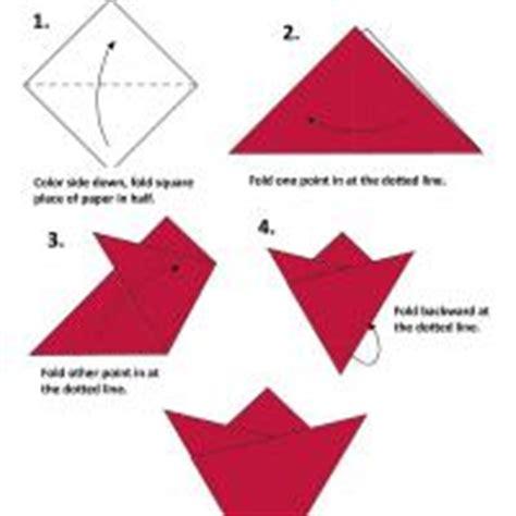 Simple Origami Flower Printable - flower origami