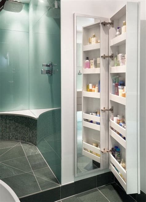 dusche aufbewahrung 30 bathroom shower storage and organization ideas