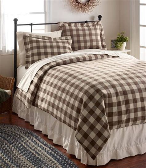 ll bean down comforter ultrasoft comfort flannel comforter cover plaid