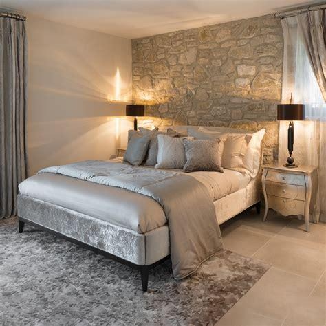 luxury designer ivory velvet bed juliettes interiors