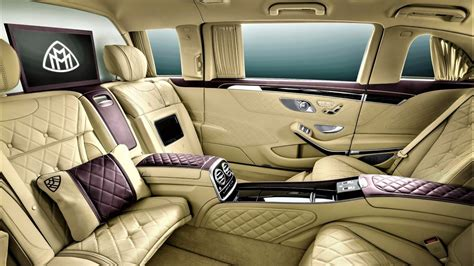 maybach luxury car interior bing images cars car interiors luxury cars and so we present a 2018 mercedes maybach s600 luxurious interior in this video i will show you
