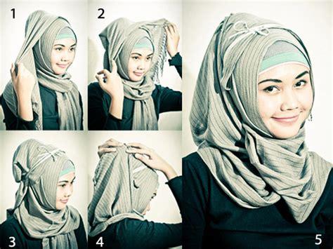 Kerudung Pashimina Corak aneka kreasi jilbab pashmina