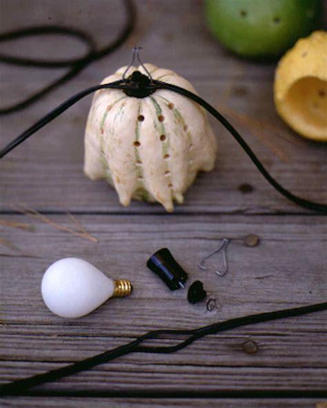 decorative hanging gourd lights martha stewart