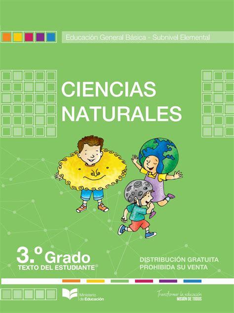 libro de ciencias naturales de cuarto de basica ecuador ccnn 3 by luigi maiza issuu