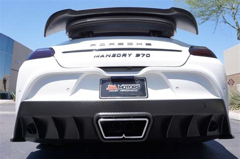 mansory cars for sale 2010 mansory porsche panamera turbo rare cars for sale